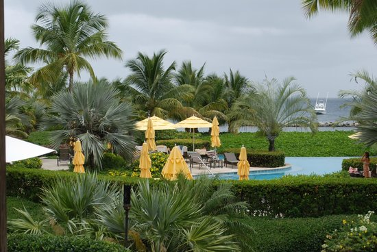 Four Seasons Resort Nevis, West Indies: One of the pools
