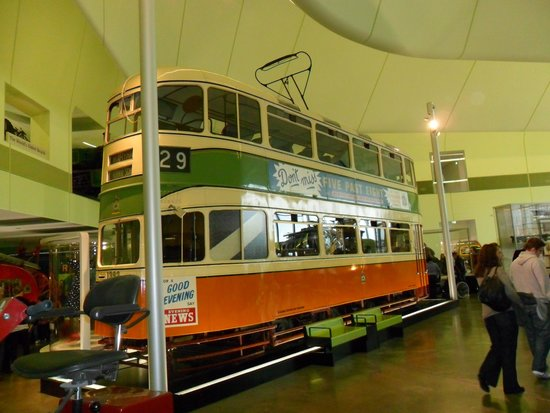 The Riverside Museum of Transport and Travel: Tram