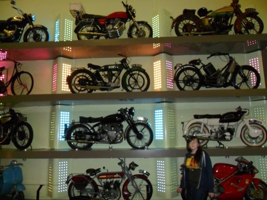 The Riverside Museum of Transport and Travel: Motorbikes