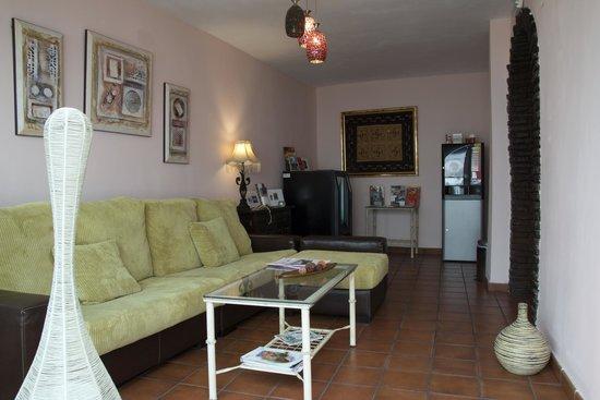 Hospederia Luis de Gongora: Sala de estar