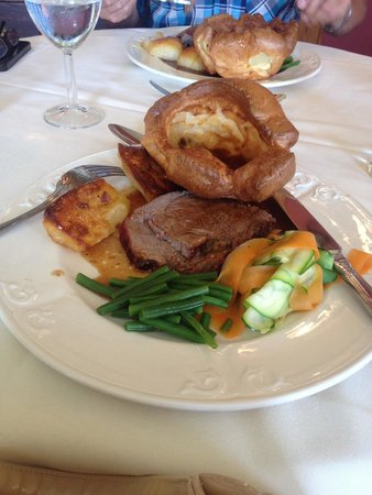 Rowley Manor Country House Hotel: Groupon Sunday lunch