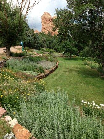 Glen Eyrie Castle & Conference Center: Property grounds