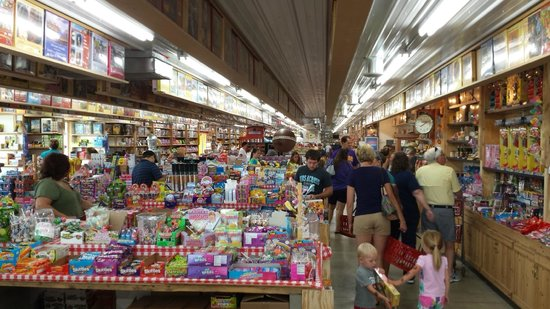 Minnesota's Largest Candy Store: Small part of the store