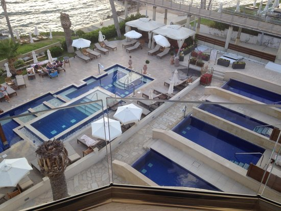 Alexander The Great Beach Hotel : View from room 201
