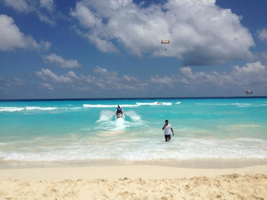 Paradisus Cancun: Fantastic cancun beaches and water sports