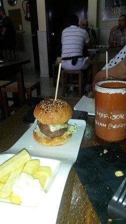 Mariscal Cocina Sincera: Mini hamburguesa de ternera