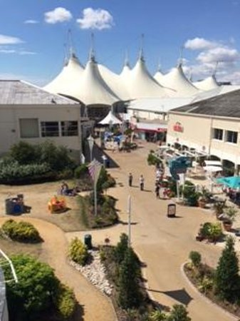 Butlins Shoreline Hotel: View from room.