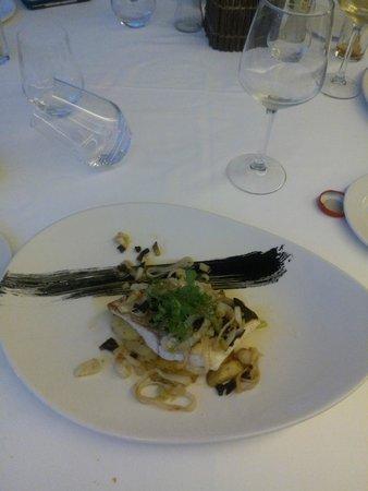 Hotel Meridional: Fantastic fish dish