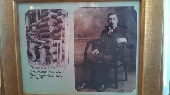 Copper Creek Inn Restaurant: History of builder of the Copper Creek Inn...