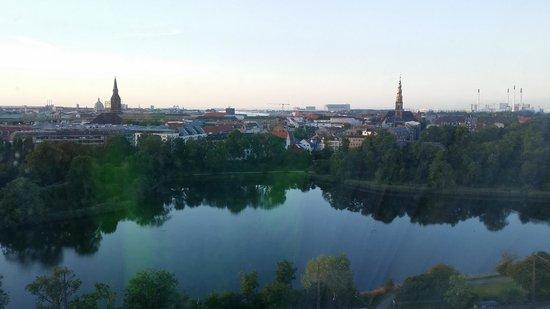 Radisson Blu Scandinavia Hotel, Copenhagen : utsikten