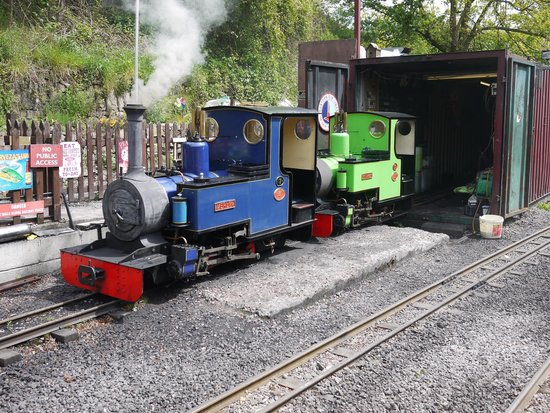 Rudyard Lake Steam Railway: Good selection of locomotives to see