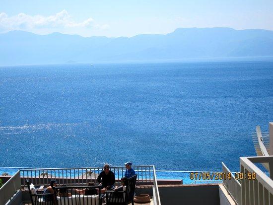 Michelangelo Resort and Spa: Looking across to Turkey