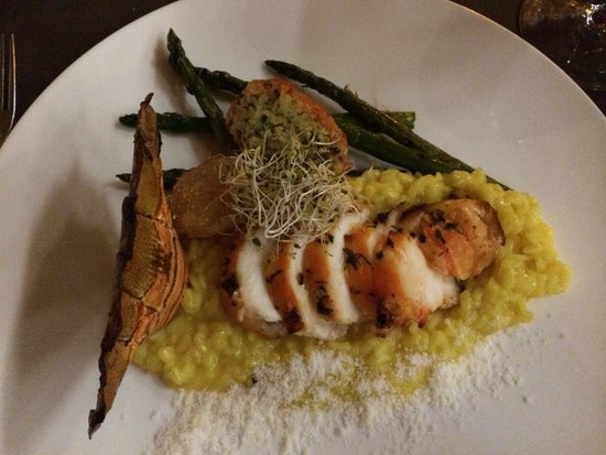 Luca: Lobster tail risotto