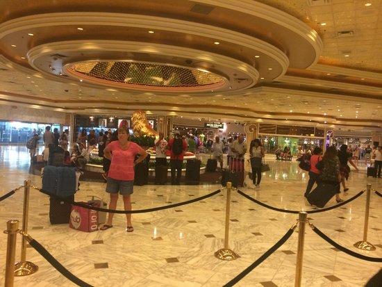 MGM Grand Hotel and Casino : Ресепш