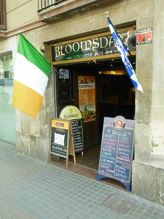 Bloomsday bar