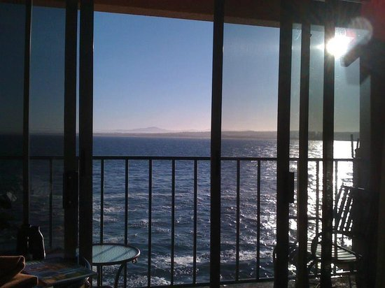 Monterey Plaza Hotel & Spa: Balcony view