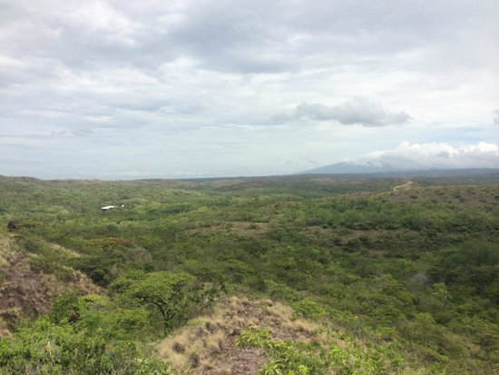 Rio Perdido: View from top of Single Track trail