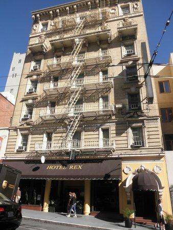 Hotel Rex, a Joie de Vivre hotel: Frente