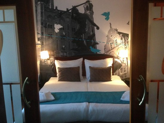Hanza Hotel: Nicely decorated room
