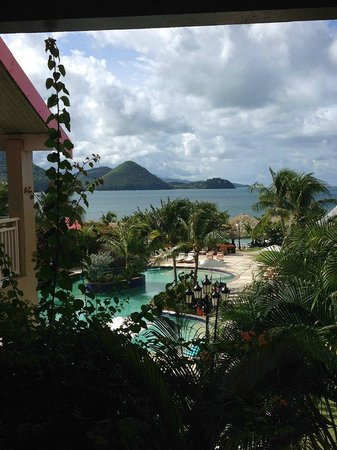 Sandals Grande St. Lucian Spa & Beach Resort: View from the room