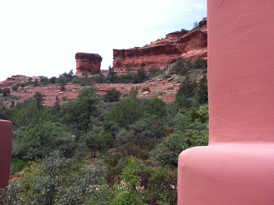 Enchantment Resort: View from our casita