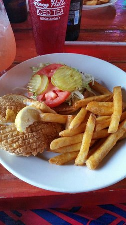 Shaggy's: Fried fish sandwich