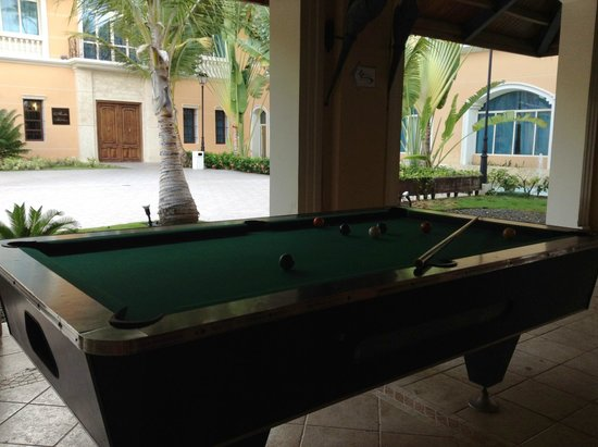 Majestic Elegance Punta Cana: Pool Tables   Bring Your Own Chalk
