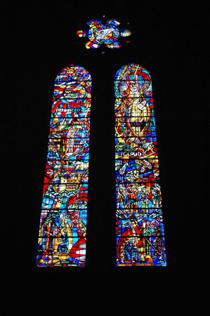 Grace Cathedral: Stained glass