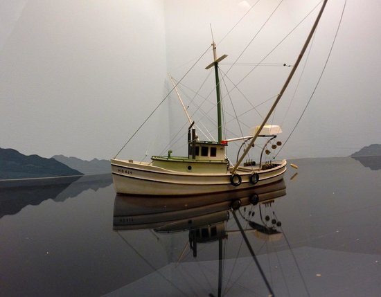 The Museum at Campbell River : Commercial Fishing Boat