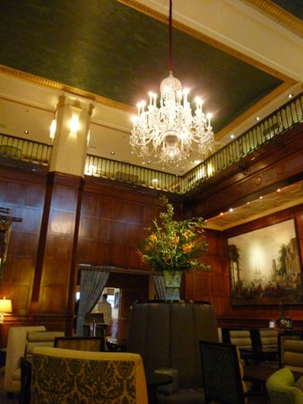 The Heathman Hotel: Magnificent lounge