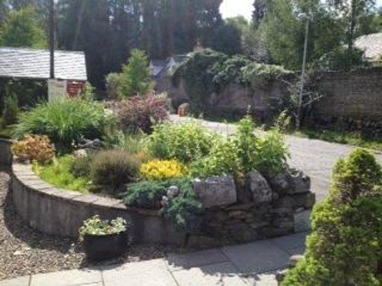 Legends of Grandtully: garden area