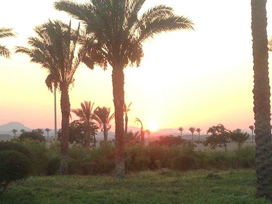 Siva Port Ghalib : coucher de soleil