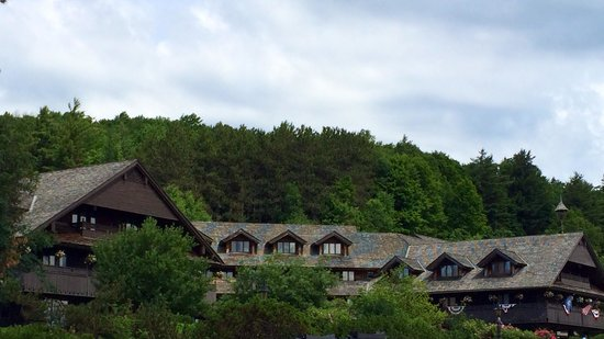 Trapp Family Lodge: View from the grounds