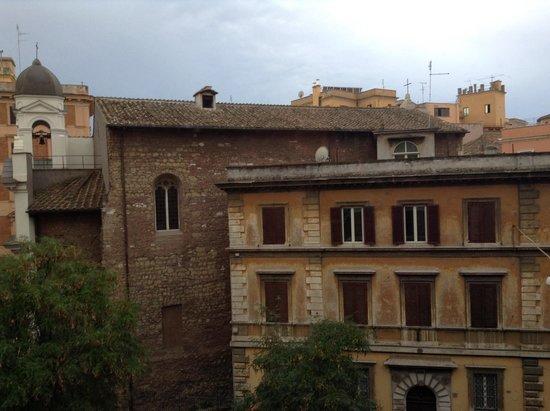 Santa Maria Inn: View from my room
