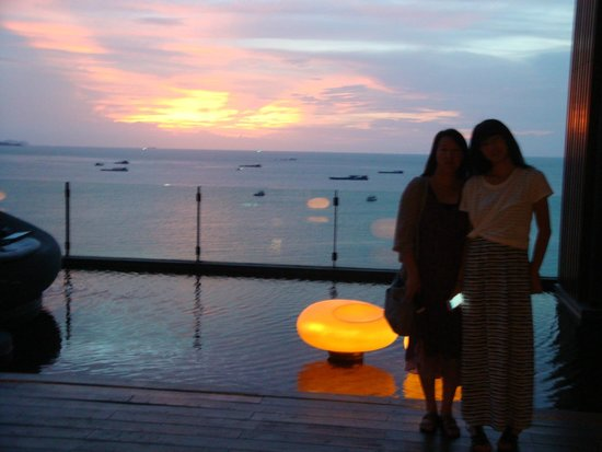 Hilton Pattaya: sunset