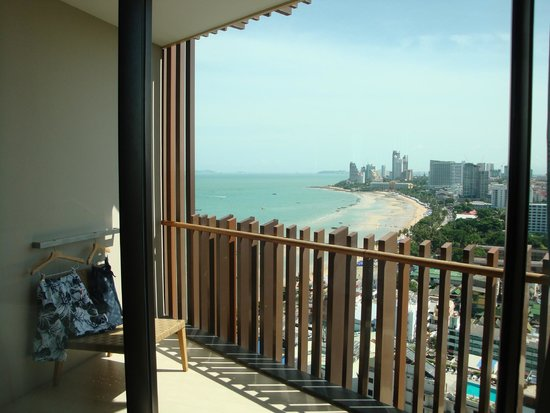 Hilton Pattaya: room view
