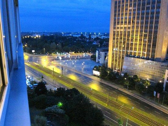 View From 15 Floor Bild Von Comfort Hotel Lichtenberg Berlin