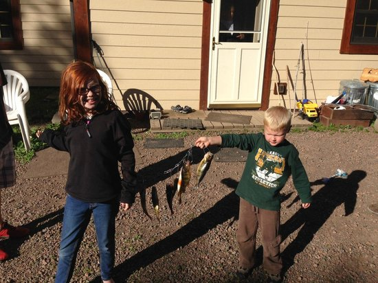 Trout Lake Resort: Catch of the day!