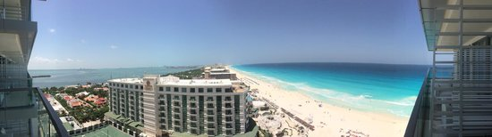 Secrets The Vine Cancun: Panoramic View