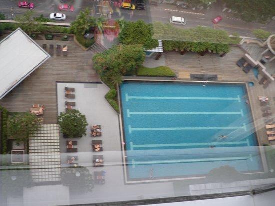 Pathumwan Princess Hotel : Pool View