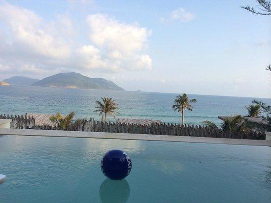 Six Senses Con Dao: Aussicht von der Terrasse