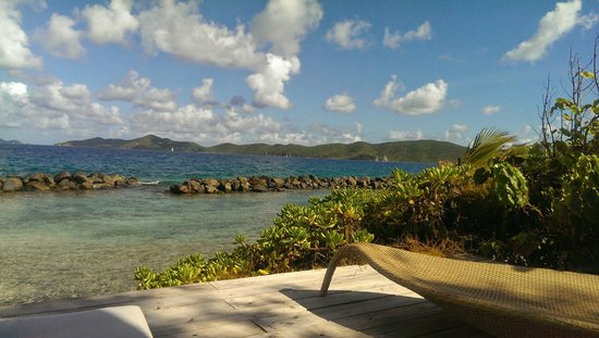 Frenchmans : View from the cabana by the beach