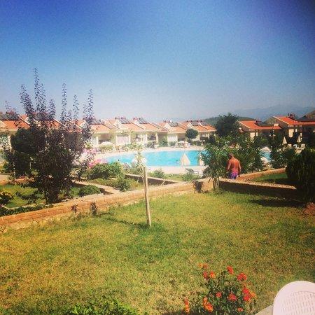 Orka Club Hotel & Villas: View from Villa