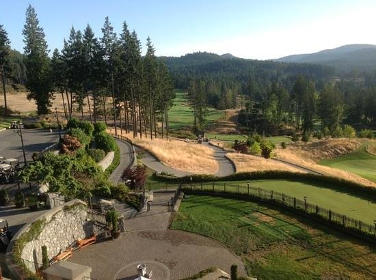 Westin Bear Mountain Victoria Golf Resort & Spa: view from deck