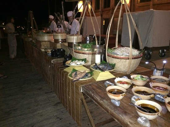 Six Senses Con Dao : Abendessen
