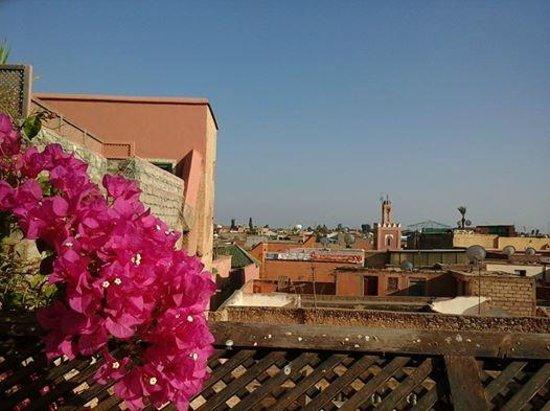 Riad Marrakiss : view from the terrace