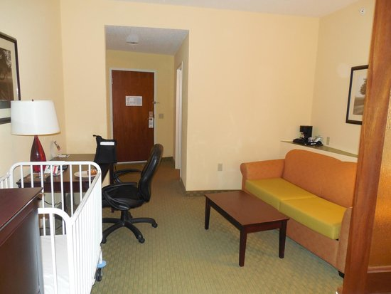 Holiday Inn Express & Suites - Harrisburg West: Pic of our room...