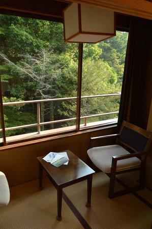 Iwaso : vista dalla veranda