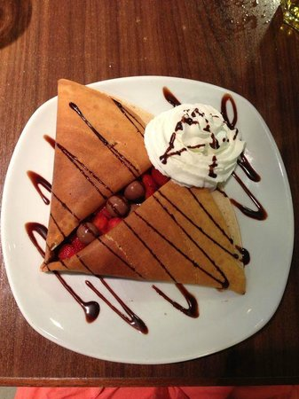 db San Antonio Hotel + Spa : Crepe from across the road!