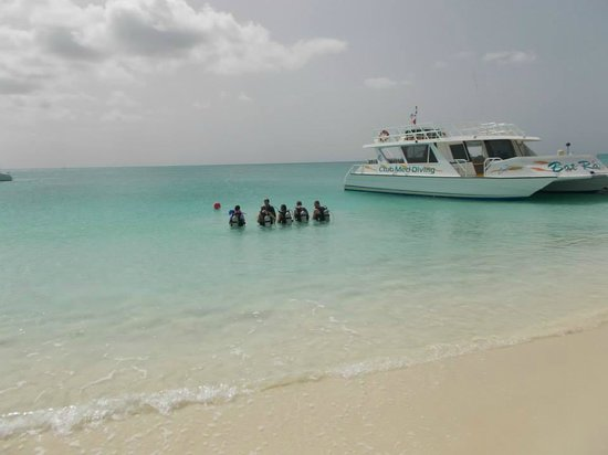 Club Med Turkoise, Turks & Caicos : Resort scuba class